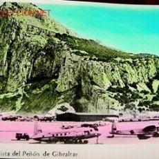 Postales: ANTIGUA POSTAL COLOREADA DEL PEÑON DE GIBRALTAR AÑOS 50. Lote 683075