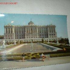 Postales: POSTAL DE LA FACHADA NORTE DEL PALACIO NACIONAL. . Lote 298172