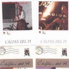 Postales: 7-74. POSTALES ALFAZ DEL PI. 4 DIFERENTES. Lote 350319