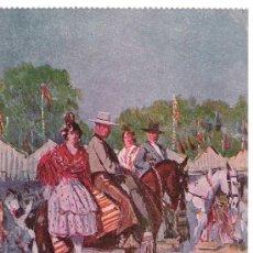 Postales: GRUPAS ANDALUZAS POR M. BERTUCHI. ED. JUAN BARGUÑÓ. NO CIRCULADA. Lote 20478150