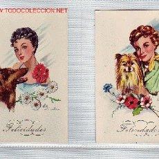 Postales: POSTALES DE FELICIDADES 2. Lote 19345270