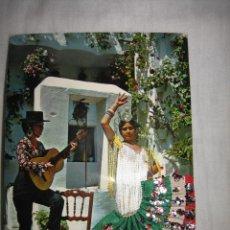 Postales: ESPAÑA TIPICA.ESTAMPA TIPICA BORDADA. Lote 11969971