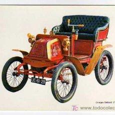 Postales: POSTAL AUTOMÓVILES: GEORGES RICHARD 3,5HP 1900 - ED.LA CAIXA. Lote 16203531