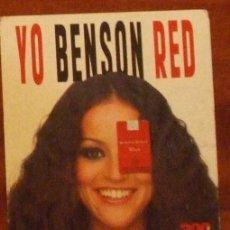 Postales: PUBLICIDAD DE TABACO. YO BENSON RED. ¿Y TU TRIBU QUÉ FUMA?. Lote 16748208