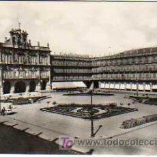 Postales: POSTAL DE HEL, ESPAÑOLA DE MADRID- PLAZA MAYOR 1959 SALAMANCA ?. Lote 18976387