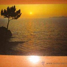 Postales: Nº 208-RECUERDO DE ESPAÑA PUESTA DE SOL EDICIONES ALARDE. Lote 20526376