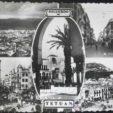 Postales: POSTAL RECUERDO DE TETUAN . CA AÑO 1950.. Lote 22770734