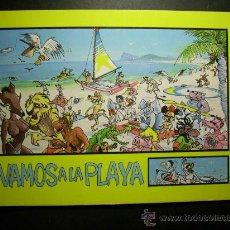 Postales: 6115 ESPAÑA SPAIN ESPAGNE VAMOS A LA PLAYA POSTCARD AÑOS 80 - TENGO MAS POSTALES. Lote 44260782