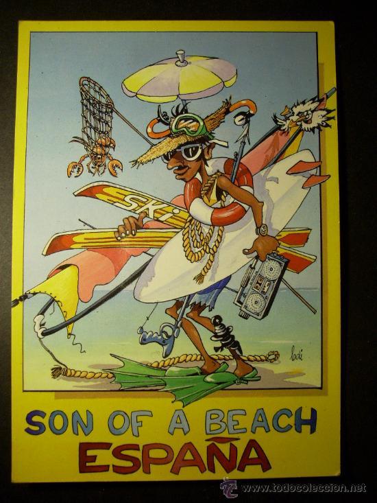 6116 ESPAÑA SPAIN ESPAGNE SON OF A BEACH POSTCARD AÑOS 80 - TENGO MAS POSTALES (Postales - España - Sin Clasificar Moderna (desde 1.940))