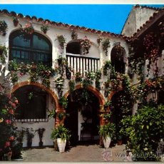 Postales: ESPAÑA TIPICA. TIPICO PATIO ANDALUZ. Lote 24293567