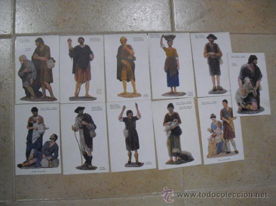 11 POSTALES DE FIGURAS BELENISTAS,DE (UNION POSTAL UNIVERSAL) (Postales - España - Sin Clasificar Moderna (desde 1.940))