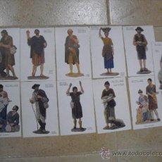 Postales: 11 POSTALES DE FIGURAS BELENISTAS,DE (UNION POSTAL UNIVERSAL). Lote 25257338