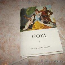 Postales: LOTE DE 20 POSTALES DE GOYA. Lote 26804458