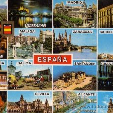 Postales: ESPAÑA Nº 20 DIVERSOS ASPECTOS COMERCIAL ESCUDO DE ORO NUEVA SIN CIRCULAR . Lote 26572766