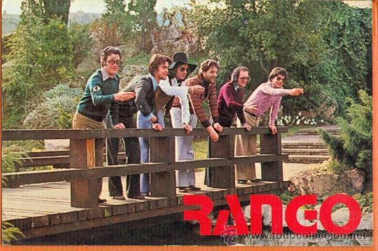 RANGO - GRUPO MUSICAL AÑOS 70 - IND. GRAF. BERGAS AÑO 1977 (Postales - España - Sin Clasificar Moderna (desde 1.940))