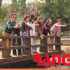 Postales: RANGO - GRUPO MUSICAL AÑOS 70 - IND. GRAF. BERGAS AÑO 1977. Lote 27758541