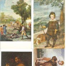 Postales: MUSEO DEL PRADO Y WELLINTONG MUSEUM.. Lote 28182020