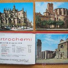 Postales: ALBUM CON 33 POSTALES DE CATEDRALES DE ESPAÑA. PUBLICIAD LABORATORIOS CHEMINOVA. 1972. Lote 29280969