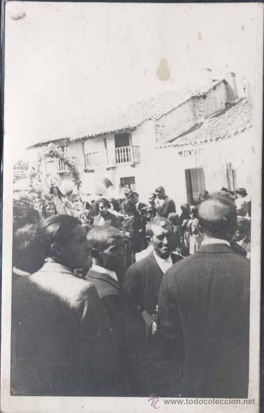ROMERIA DE UNA VIRGEN- POSIBLEMENTE PUEBLO DE LA PROVINCIA DE LEON (Postales - España - Sin Clasificar Moderna (desde 1.940))