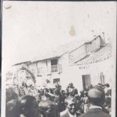 Postales: ROMERIA DE UNA VIRGEN- POSIBLEMENTE PUEBLO DE LA PROVINCIA DE LEON. Lote 30000954
