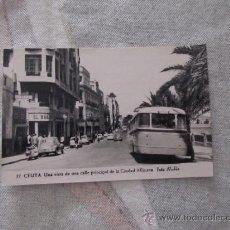 Postales: M69 POSTAL CIRCULADA AÑOS 50 DE CEUTA NUMERO 37 FOTO RUBIO. Lote 31087733
