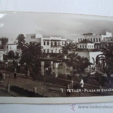 Postales - TETUAN - MARRUECOS ESPAÑOL - PLAZA DE ESPAÑA - POSTAL TIPO FOTOGRAFICA - 31228979