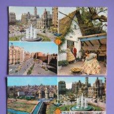 Postales: POSTALES DE VALENCIA, AÑOS 60. Lote 31575910