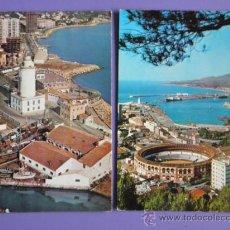 Postales: POSTALES DE COSTA DEL SOL DE MÁLAGA Y DE MÁLAGA,AÑOS 60. Lote 31575923