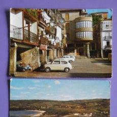 Postales: POSTALES DE CALLE DEL MERCADO DE SAN VICENTE DE LA BARQUERA Y DE PUENTEDEUME, AÑOS 60. Lote 31575934