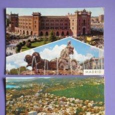 Postales: POSTALES DE MADRID Y PALMA DE MALLORCA, AÑOS 60. Lote 31575957