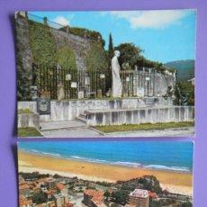 Postales: POSTALES DE TUY DE PONTEVEDRA Y DE VISTA AÉREA DEL SARDINERO DE SANTANDER, AÑOS 60. Lote 31576033