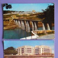 Postales: POSTALES DE NUEVO PORTOMARÍN DE LUGO Y GRAN HOTEL LA TOJA DE PONTEVEDRA, AÑOS 60. Lote 31576057