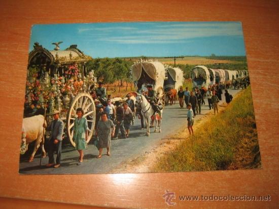 811.-ESPAÑA ROMERIA TIPICA ANDALUZA (Postales - España - Sin Clasificar Moderna (desde 1.940))