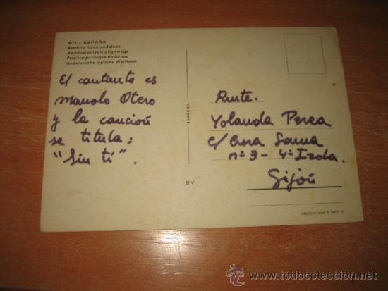 Postales: 811.-ESPAÑA ROMERIA TIPICA ANDALUZA - Foto 2 - 31713497
