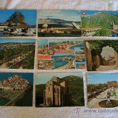 Postales: POSTALES CIRCULADAS ESPAÑA 8 CON SELLO, 1 SIN. Lote 32050263