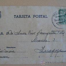 Postales: TARJETA POSTAL. SIN IMAGEN, POSGUERRA.. Lote 32874528