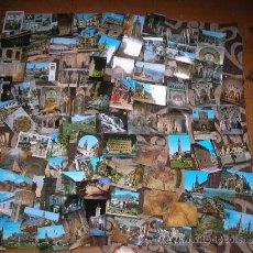 Postales: LOTE DE 175 POSTALES :ANDALUCIA -MADRID- SANTIAGO-LEÓN ...AÑOS 70 SIN CIRCULAR. Lote 33640188