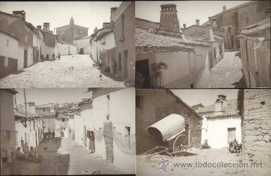 8 REPRODUCCIONES DE POSTALES ANTIGUAS PERO SIN LOCALIZAR EL PUEBLO (Postales - España - Sin Clasificar Moderna (desde 1.940))