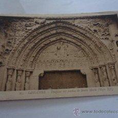 postal sangüesa portico de santa maria circulada