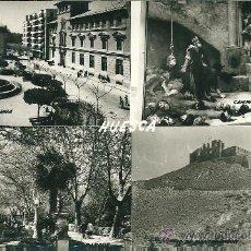 Postales: POSTAL HUESCA, VISTAS, ED. SICILIA, SIN CIRCULAR. Lote 34739574