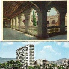 Postales: TRES POSTALES DIVERSAS AÑOS 70. Lote 35263342