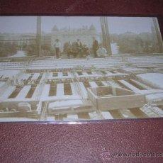 Postales: ANTIGUA POSTAL FOTOGRAFICA AÑOS 20 -30 CONSTRUCCION ARQUITECTONICA - 14X9 CM. . Lote 36370869