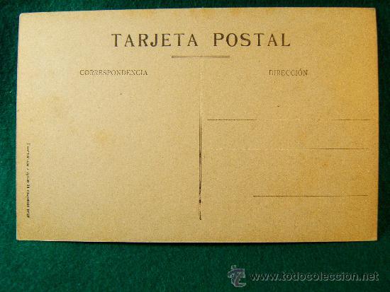 Postales: ESPAÑA Y PORTUGAL - POSTAL - MAPA CON ESCUDOS -Nº1- ALBERTO MARTIN. BARCELONA - PRINCIPIOS SIGLO XX. - Foto 2 - 36800201