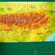 Postales: MAPA 3D EN POSTAL - HOLOGRAFICA -SIN USAR-TODO EL PIRINEO DESDE IRUN-PORT BOU -10X21 CM. - AÑO 2004.. Lote 36812681