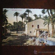 Postales: ELCHE-HUERTO DE MALLA. Lote 36930850