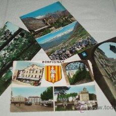 Postales: CUATRO POSTALES DIFERENTES SITIOS CIRCULADAS. Lote 37466066