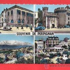 Postales: - 8526 BONITA DOS POSTAL DE PERPIÑAN NO CIRCULADA VER FOTOS ADICIONALES. Lote 37562561
