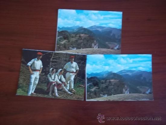 POSTALES DEL PIRINEO NAVARRO - AÑO 1970 (Postales - España - Sin Clasificar Moderna (desde 1.940))