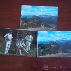 Postales: POSTALES DEL PIRINEO NAVARRO - AÑO 1970. Lote 37982766