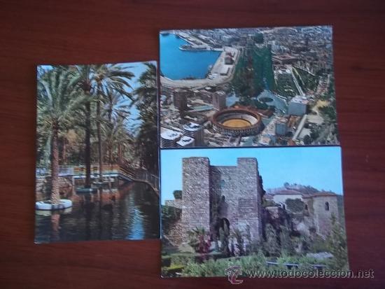 POSTALES DE MALAGA ( AÑOS 1970 ) (Postales - España - Sin Clasificar Moderna (desde 1.940))